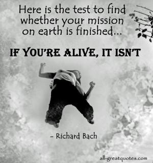 Richard Bach Quotes Death