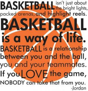 Michael Jordan- basketball saying