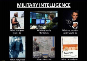 What We Think Of Military Intelligence