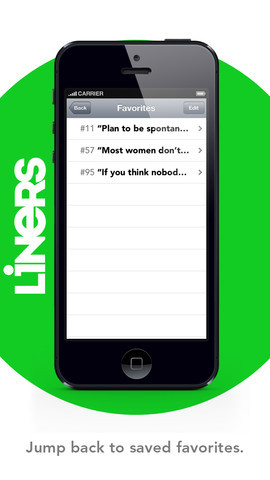 Liners- famous quotes, one liners, and funny jokes
