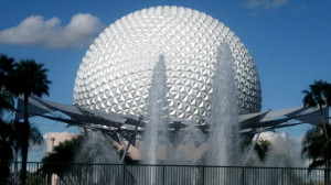 Spaceship Earth With Monorail