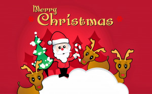 Merry Christmas Quotes Big Poster