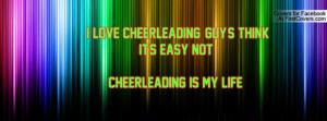 love cheerleading!!!!!Guy's think it's easy NOT!!!!CHEERLEADING IS ...
