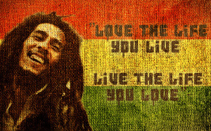 Love Life Bob Marley Quote Wallpaper 12 Wallpaper with 1440x900 ...
