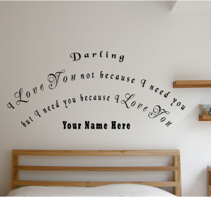 Love You Because Quotes