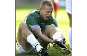 jacob olesen (denmark soccer player) - most gruesome sports injuries