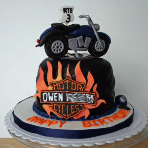 Happy Birthday Motorcycle Cake Harley quinn famous quotes