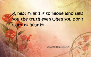 honesty friendship quotes