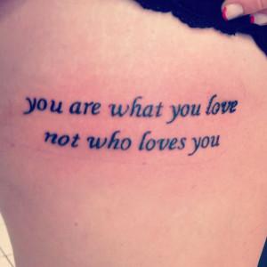 fall out boy lyrics tattoos