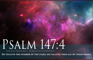 Related For Bible Verse Psalm 147:4 Stars In Space Cosmos HD Wallpaper