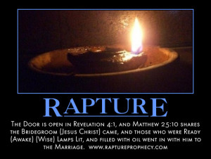 The Rapture of the Church- The Bride is Ready....