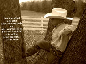 Just cowboy and his wisdom