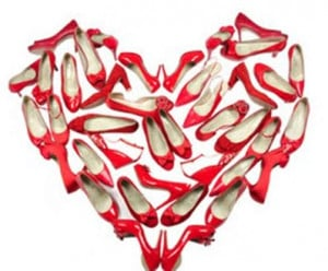 13465code 15 Red high heels for valentine night 2014