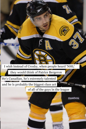 agree. Crosby really didn't do much except be talented to get his ...