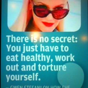Gwen stefani, quotes, sayings, life, eat, work, live