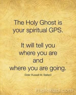 Russell Ballard quote...