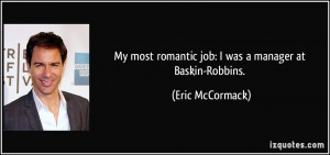 More Eric McCormack Quotes