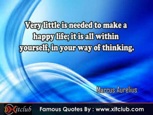 15 Most Famous #Quotes By #MarcusAurelius #FamousQuotes