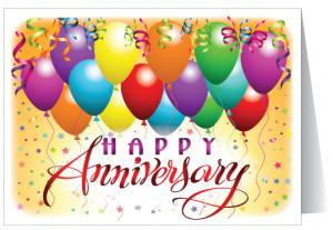 Business Anniversary Greeting