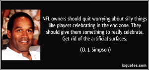 NFL owners should quit worrying about silly things like players ...