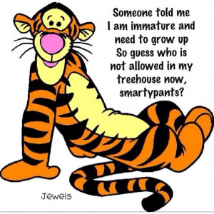 Love Whinni the Pooh and Tigger is my favorite character.