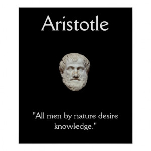Aristotle - Jobs Working Mind Quote Posters