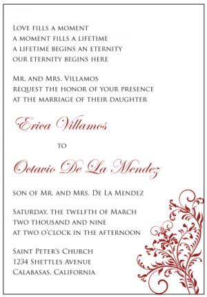 Wedding Invitation Quotes In Spanish Wedding invitations in spanish