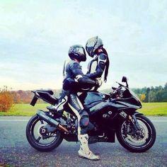 ... couples, motorbike couple, biker girl, sportbik, random pictur