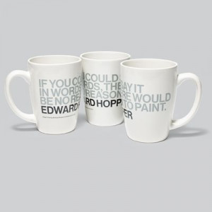 Whitney Museum Shop - Edward Hopper Quote Mug