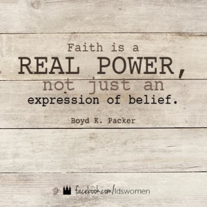 Real power. #faith #lds #quote