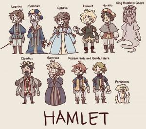 & King Hamlet (ghost). Claudius is King Hamlet's brother & Hamlet ...