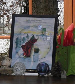 Printable Winter Solstice Advent Calendar