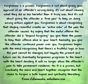poster forgiveness paragraph