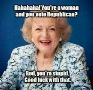 Betty White has words for conservative women