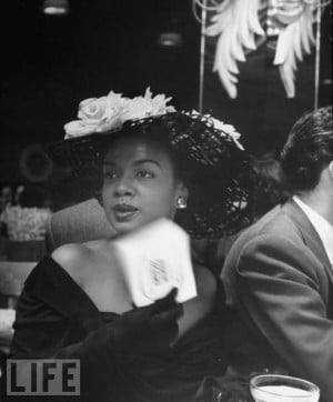 Port-of-Spain, Trinidad in 1920, the late singer/pianist Hazel Scott ...