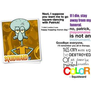 Squidward quotes