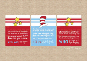 Dr. Seuss Quote, A Paperramma exclusive: You are Life's Who // Nursery ...