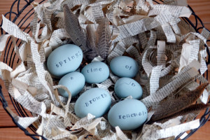 ... fun and easy idea for decorating easter eggs stamping easter eggs