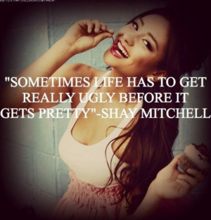 Shay Mitchell quote