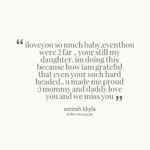 love you my daughter quotes