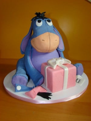 Who loves me and wants to make an Eeyore Cake for my Birthday?!?!?!