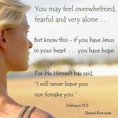 Hebrews 13:5 Bible verse of faith and hope. Scripture of encouragement ...