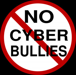 No Cyber Bullies clip art