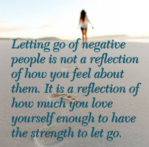 Letting Go of Negative People