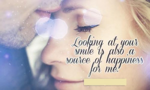 Your Beautiful Quotes For Her Looking at your smile is also