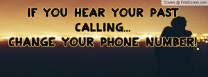 if you hear your past calling...change your phone number! , Pictures