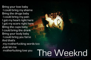 the weeknd # hip hop # wicked games # quotes # love # lyrics # music ...