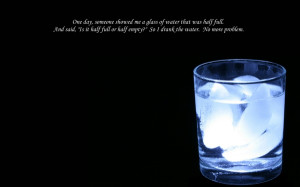 water glass humor quotes empty 1680x1050 wallpaper Knowledge Quotes HD