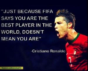 Quote from Cristiano Ronaldo