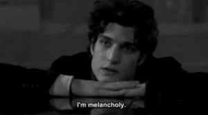 ... tags for this image include: melancholy, louis garrel and quote
